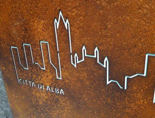 Segnaletica centro storico di Alba